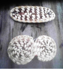 SWEETGRASS BARRETTES