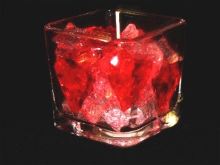 CRAZY HEARTS GEL CANDLE