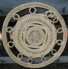 LARGE ROUND PLACEMAT