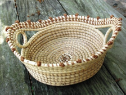 STRAIGHT SIDED SWEETGRASS BREAD BASKET