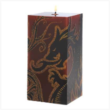 DRAGONCREST  SQUARE CANDLE