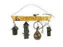 """HOUSES FOR SALE"" BIRDHOUSE DECOR"