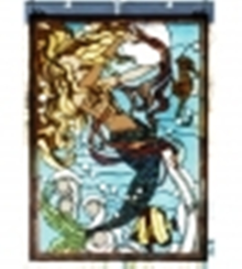 MERMAID OF THE SEA STAINED GLASS WINDOW