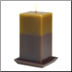 EARTHTONE PILLAR CANDLE