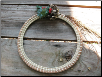 SWEETGRASS WREATH WITH POPCORN BERRIES