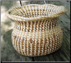 SWEETGRASS VASE WITH TWIST TOP