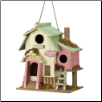 HUMMINGBIRD HUT BIRDHOUSE