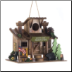 SCOUT CAMP TRADING POST BIRDHOUSE