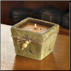 STONE FINISH CANDLE