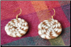 ROUND SWEETGRASS EARRINGS