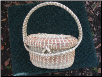 CHILD'S SWEETGRASS BASKET PURSE