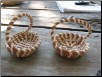 MINIATURE SWEETGRASS RING BASKET